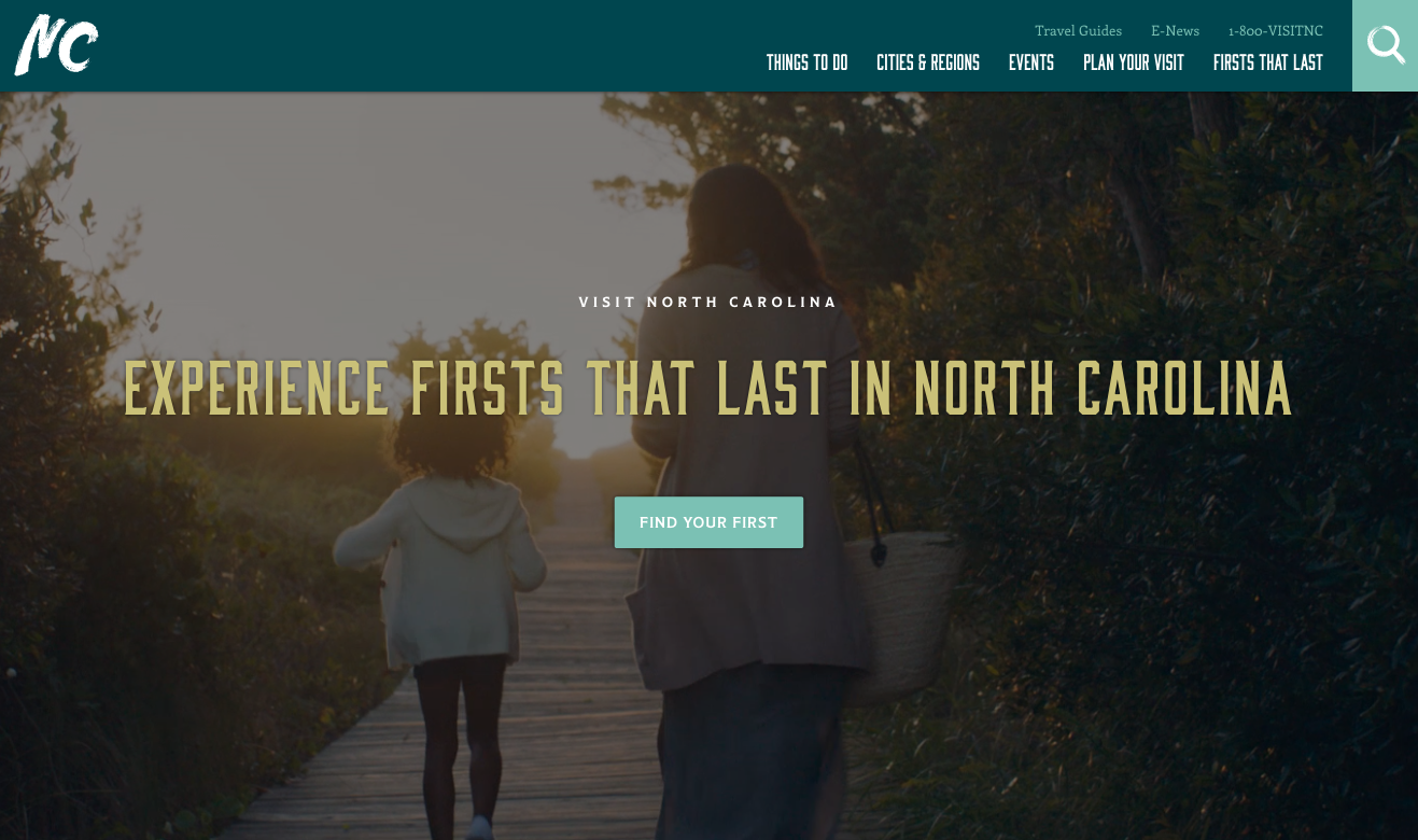 VisitNC Screenshot