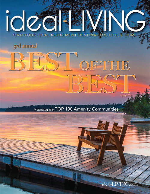 Ideal Living Magazine Cover