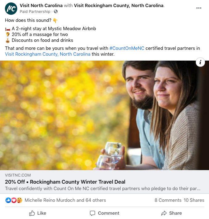 travel deal social promotion